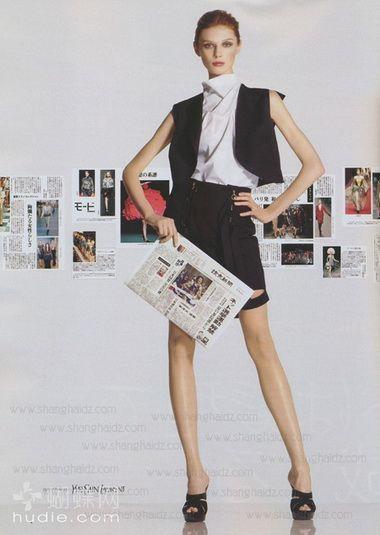 欧美时尚杂志 早春美得不一样